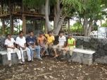 The masonry crew